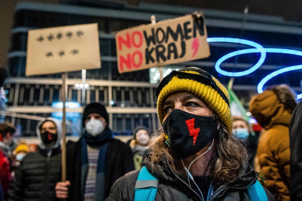 Demonstracije u Varšavi protiv potpune zabrane abortusa održane su koncem siječnja