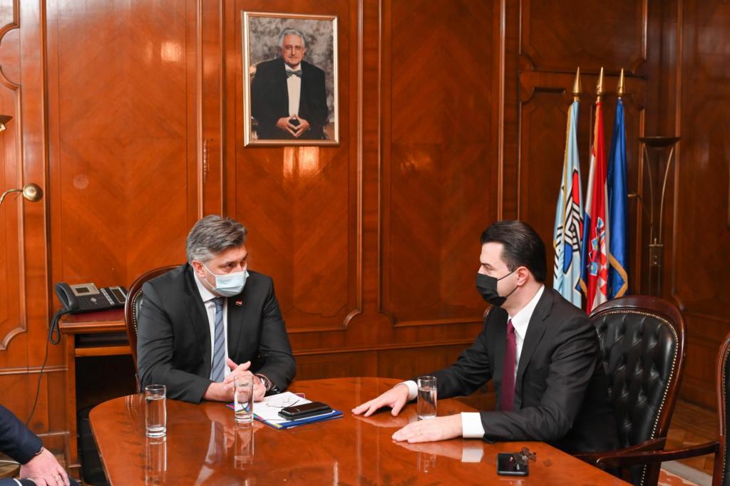 Plenković i Basha
