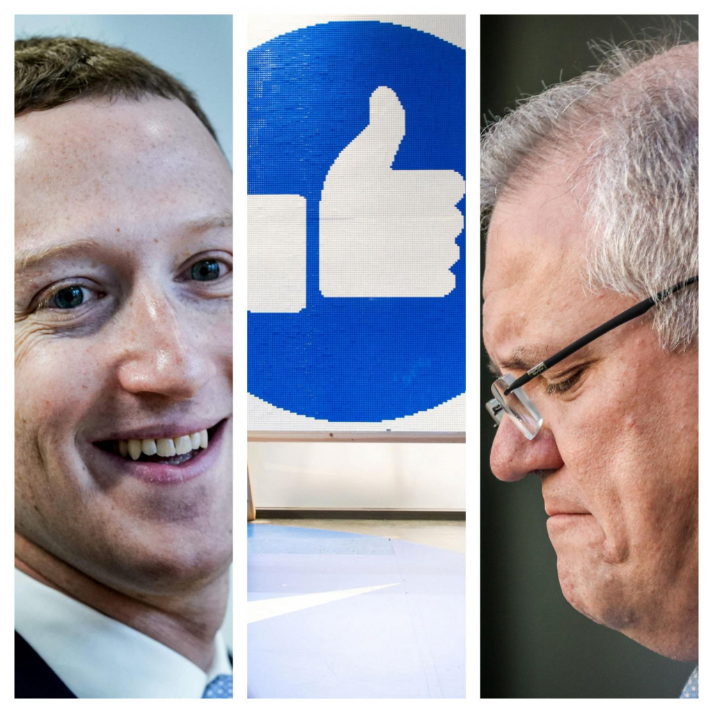 Mark Zuckerberg i Scott Morrison