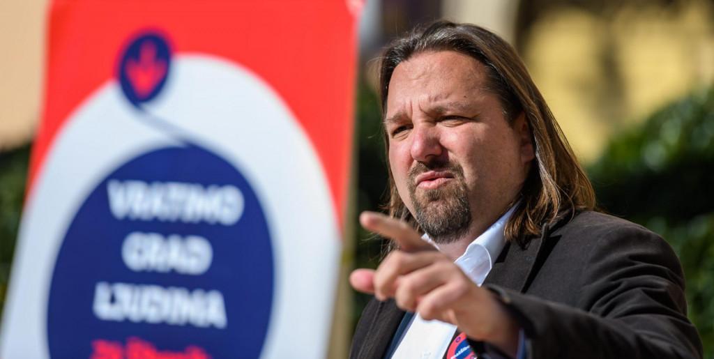Tonči Restović, kandidat SDP-a za gradonačelnika Šibenika