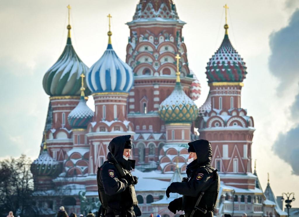 Prizor iz Moskve ovih dana