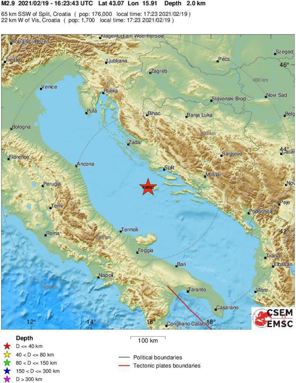 Karta potresa