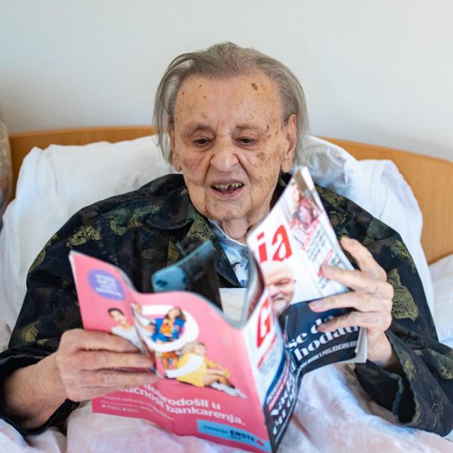 Paula Banac u listopadu puni 104 godine i najstarija je korisnica dubrovackog doma umirovljenika.<br />