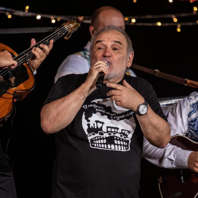 Balašević na jednom od svojih koncerata u drevnoj Areni