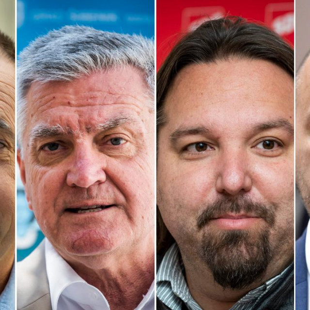 Ivo Glavaš, Željko Burić, Tonči Restović i Hrvoje Zekanović