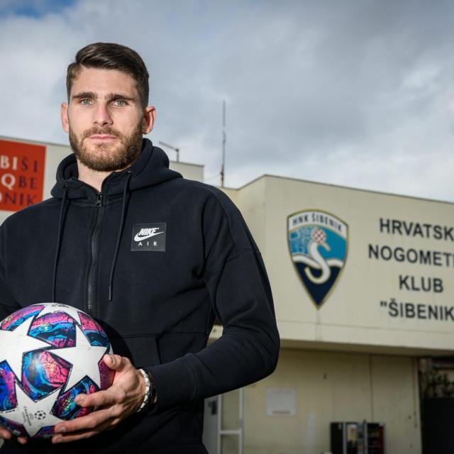 Karlo Bilić, nogometaš Šibenika