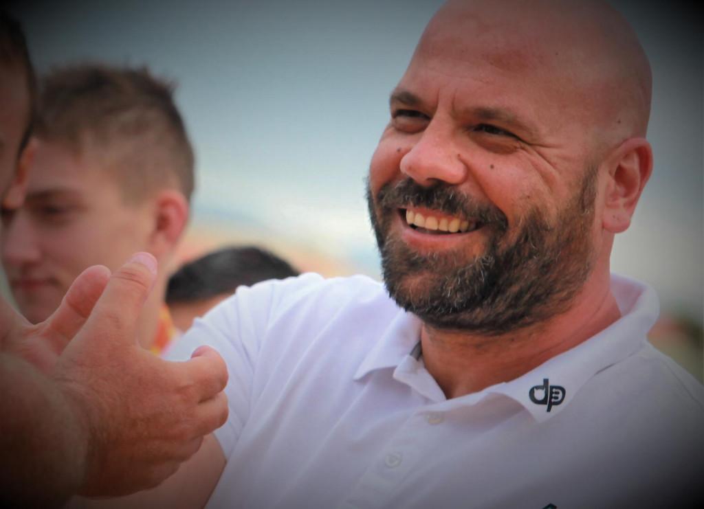 Đani Pecotić, trener juniora Jug AO foto: Tonči Vlašić