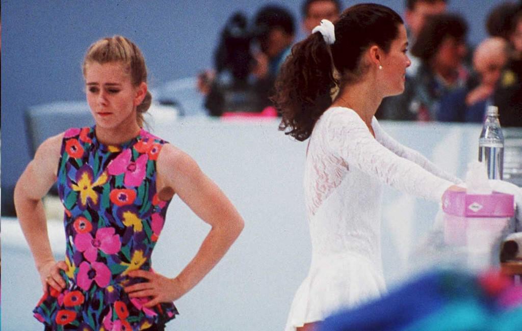 Tonya Harding (lijevo) i Nancy Kerrigan