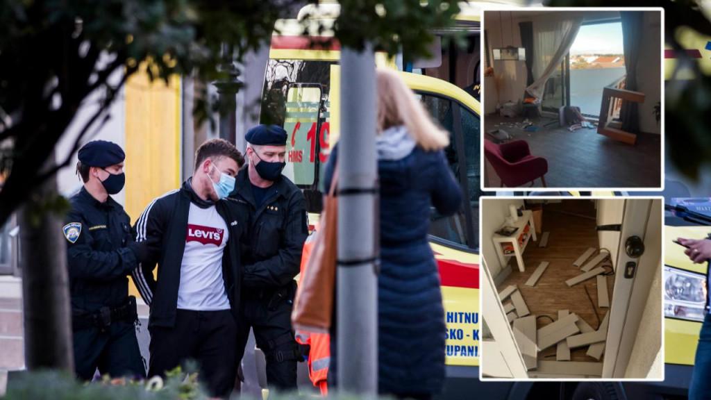 Mladi Slavonac satima je prijetio s vrha zgrade, a u međuvremenu je provalio u stan Marina Mikšića