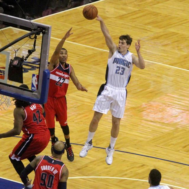 Hezonja je prvu utakmicu u NBA-u odigrao 28. listopada 2015. u dresu Orlanda protiv Washingtona foto: Tonči Vlašić