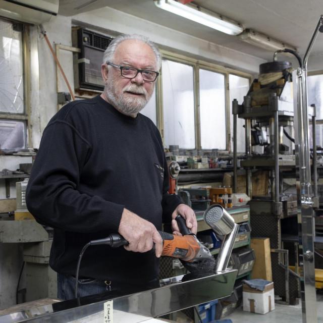 Leo Merčep cijeli radni vijek bavi se proizvodima od inoksa