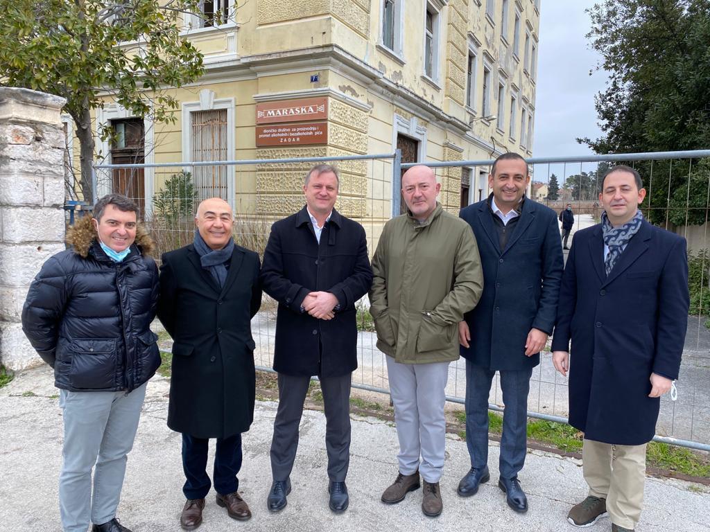 Gradonačelnik Zadra i čelni ljudi Dogus grupe nekidan su najavili da će na jesen početi izgradnja hotela Maraska