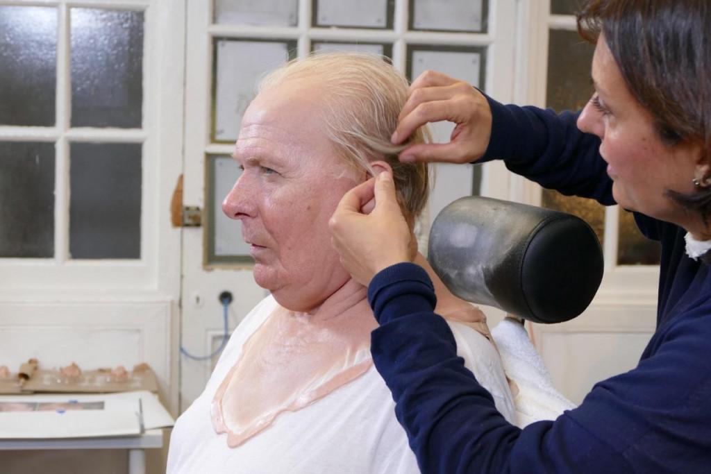 Ivana Primorac priprema Garyja Oldmana za ulogu Churchilla u filmu 'Prijelomni čas', koji je osvojio Oscara za masku