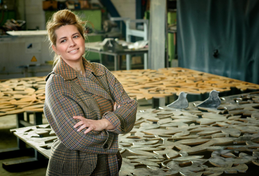 Splitska dizajnerica Lea Aviani osmislila je nova marjanska vrata, koja se izrađuju u radionici tvrtke 'Salona Var'