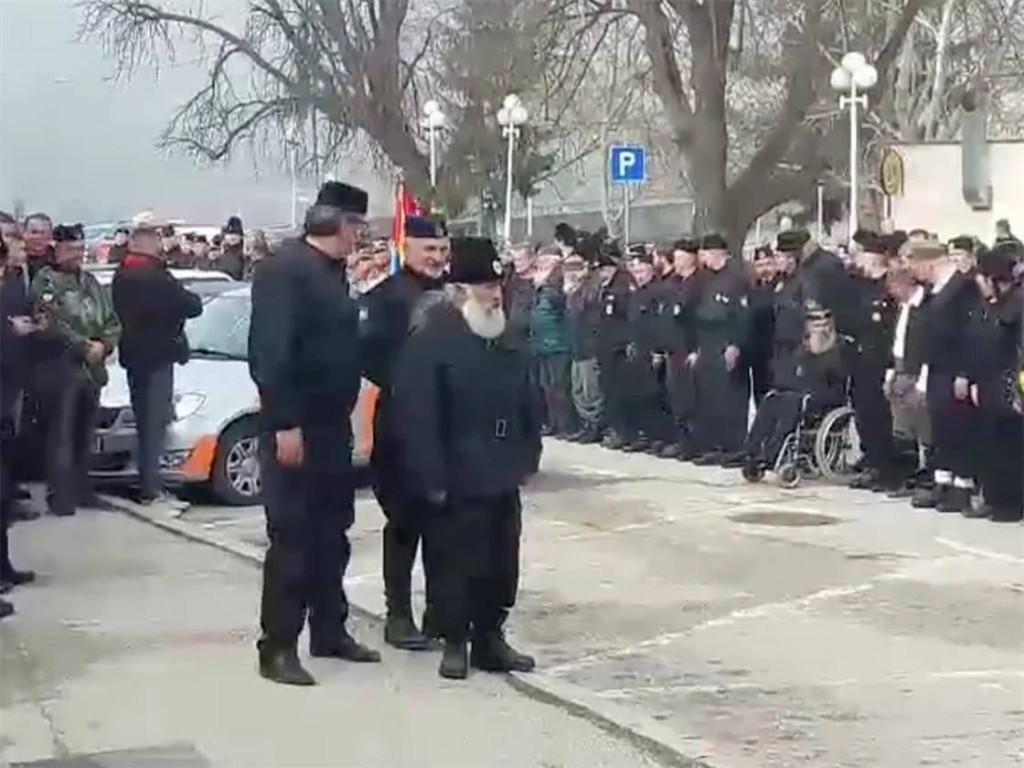 Sa četničkog skupa u Višegradu 10. ožujka 2019. godine