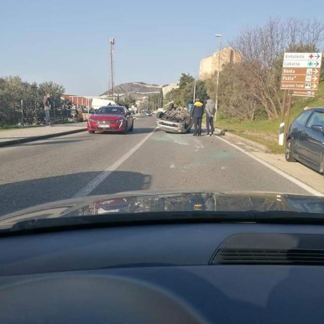 Prometna nesreća u Mokošici