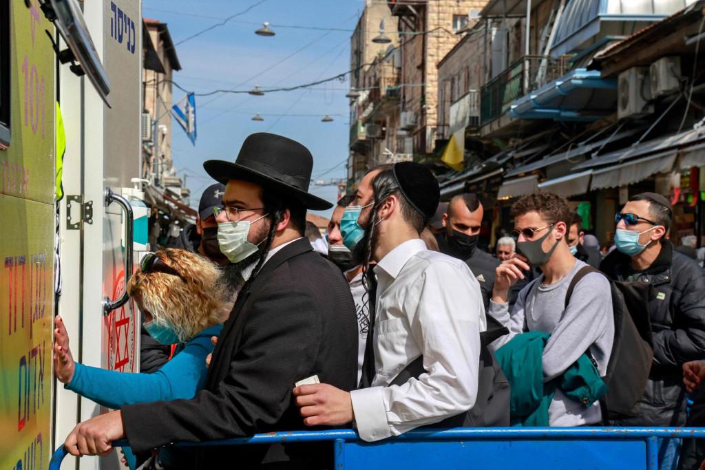 Red za cijepljenje u Jeruzalemu