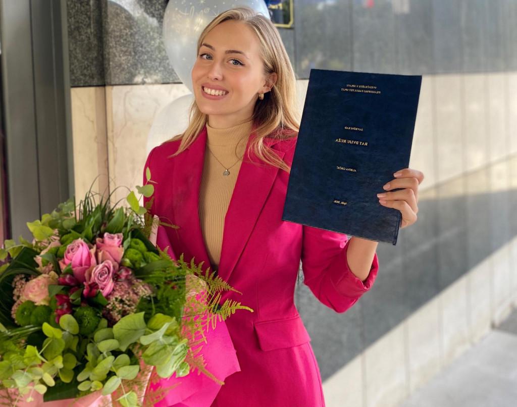 Albina je već obranila završni rad na preddiplomskom studiju engleskog i povijesti na splitskom Filozofskom fakultetu