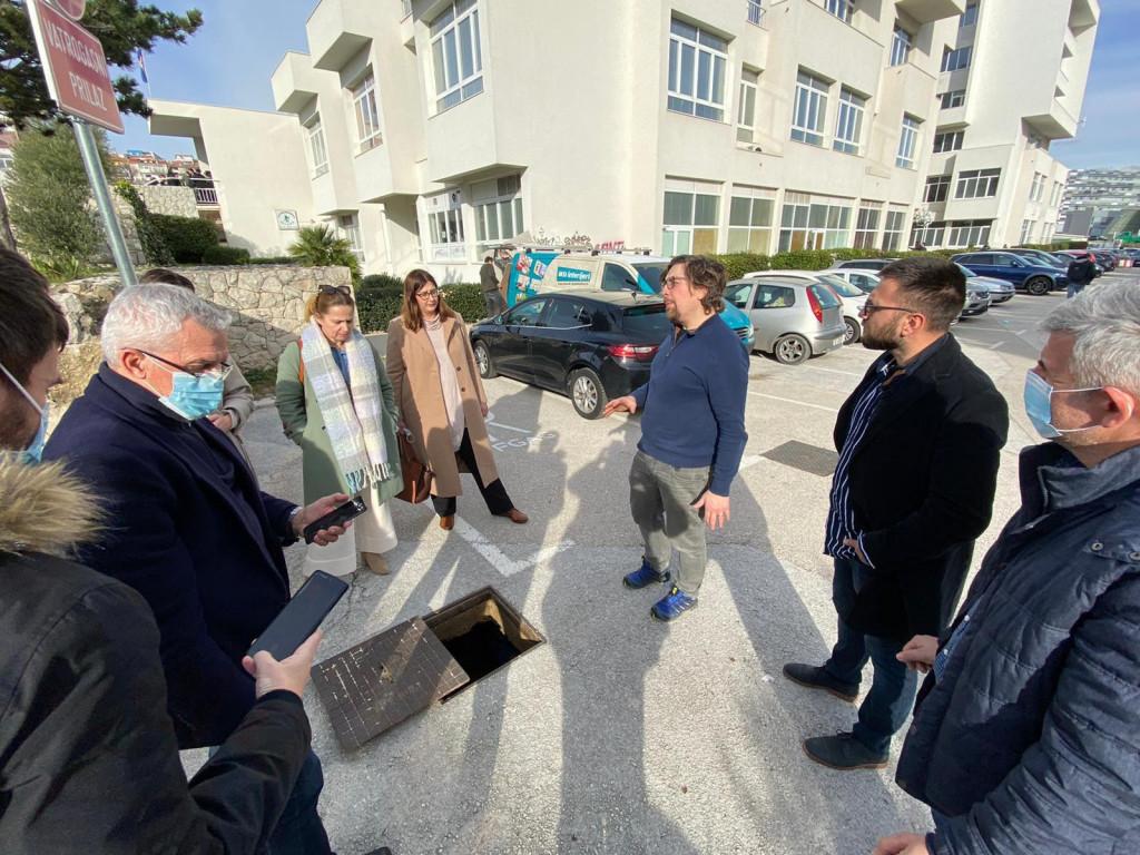 Posjet pilot lokaciji Funkcionalnog urbanog područja (FUA) Split na Fakultetu građevinarstva, arhitekture i geodezije