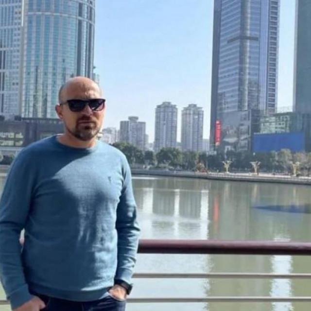 Marko Jurić u Wuhanu