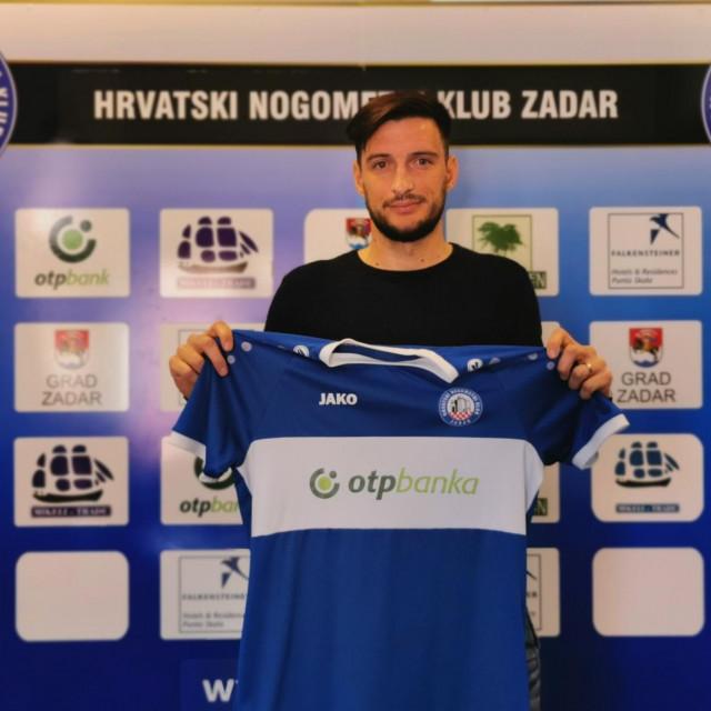 Igor Banović, novi igrač HNK Zadar