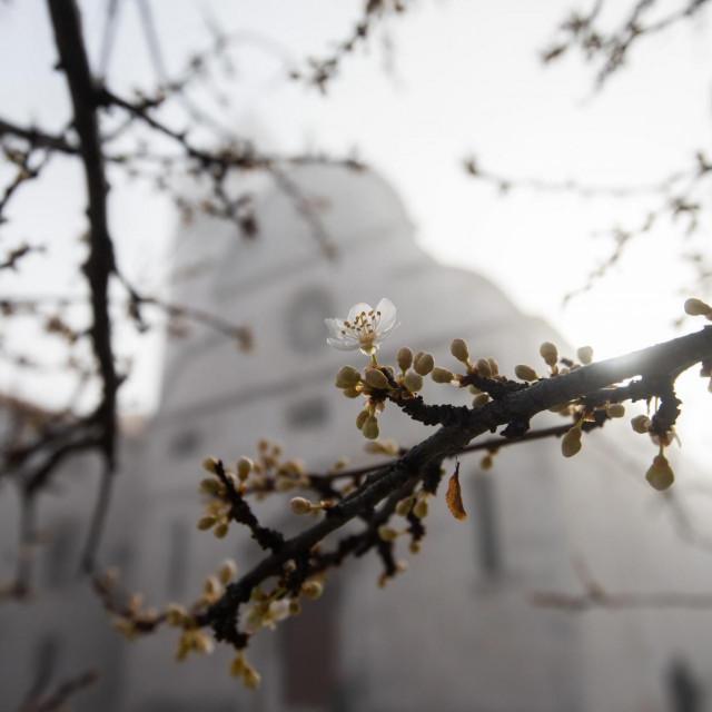 Zadrane je jutros iznenadila gusta magla koja se nadvila nad grad.<br />