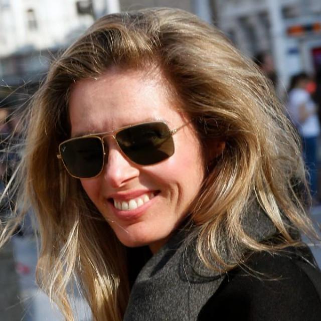 Leona Paraminski snimljena u Zagrebu pretprošle godine