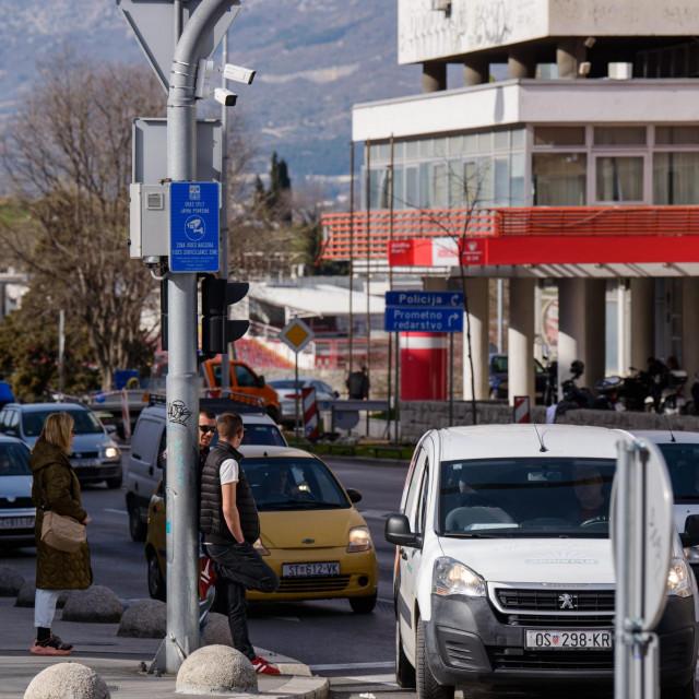 Od prosinca raskrižje ulica Domovinskog rata i Hrvatske mornarice te Ulice slobode nadziru kamere