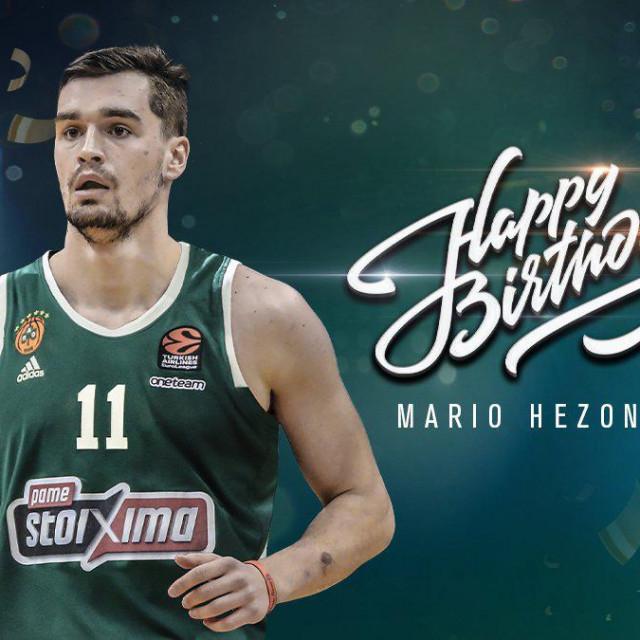 Mario Hezonja je rođen u Dubrovniku 25. veljače 1995. godine