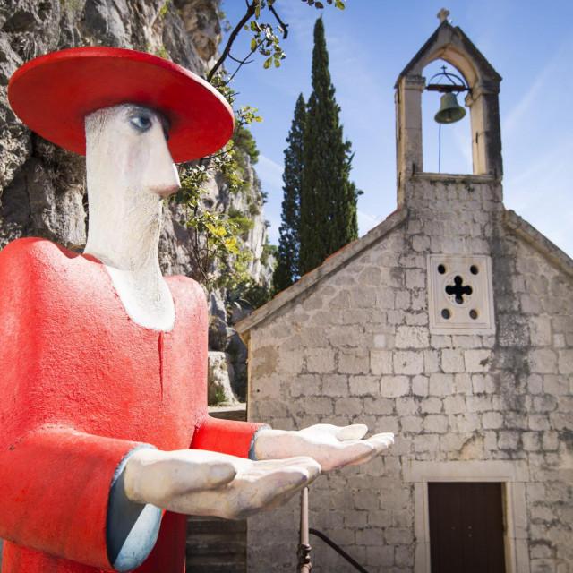 Skulptura svetog Jere, autora Vaska Lipovca
