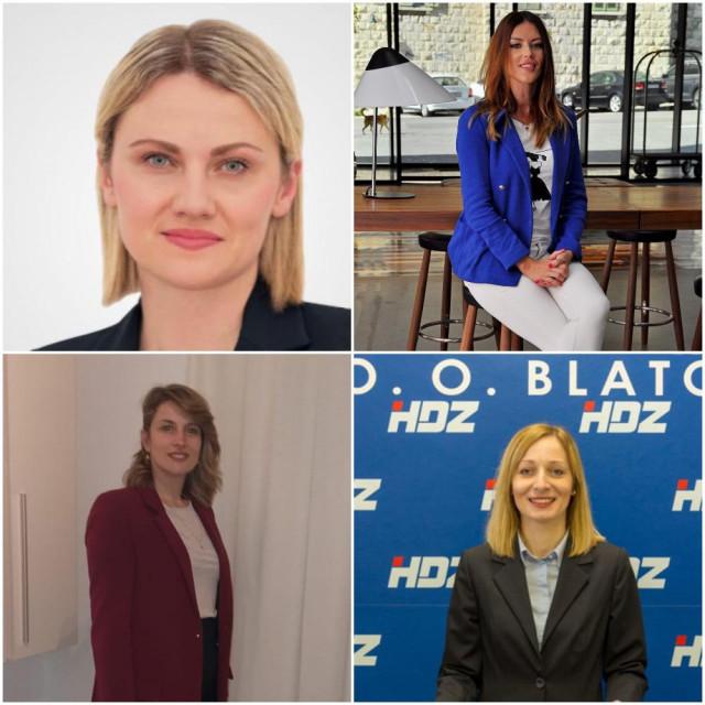 Katarina Gugić, Maja Zlokić, Franciska Jurišić Bačić, Petra Tomašić