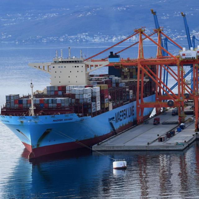Luka Rijeka, kontejnerski terminal Brajdica