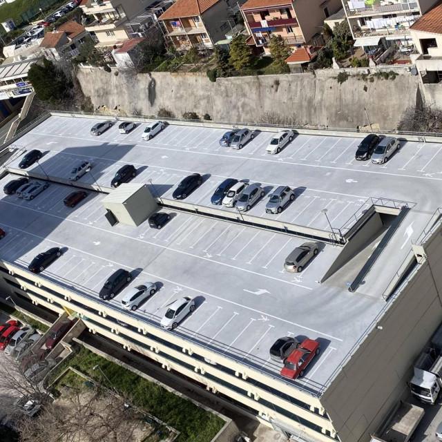 Završena je sanacija garaže u Šimićevoj ulici na Blatinama