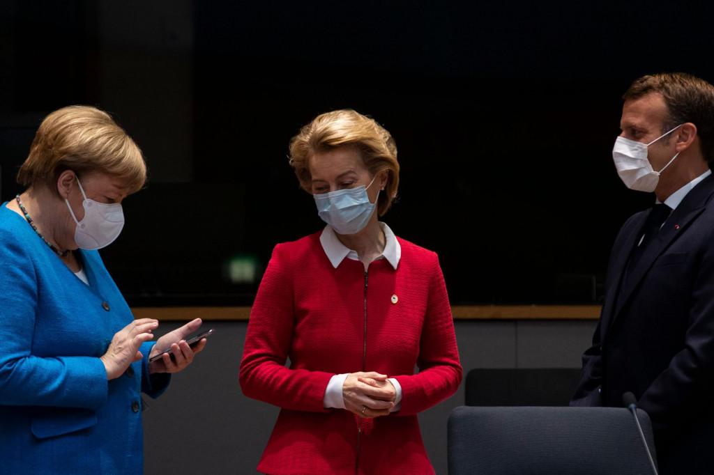 Iako Europu vode dvije Njemice, distribucija cjepiva odaje veliku neorganiziranost i europska situacija je krajnje nepovoljna<br /> AFP