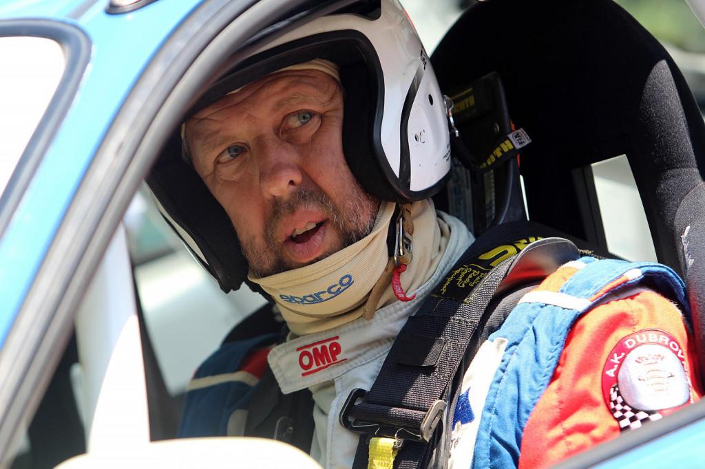 Maro Franić, automobilist Dubrovnik Racinga