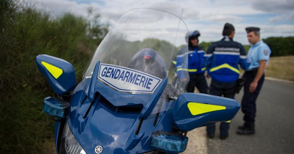 Ilustracija, francuska policija