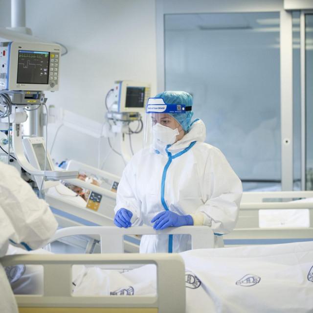 Križine, respiracijsko-intezivisticki regionalni centar za COVID-19