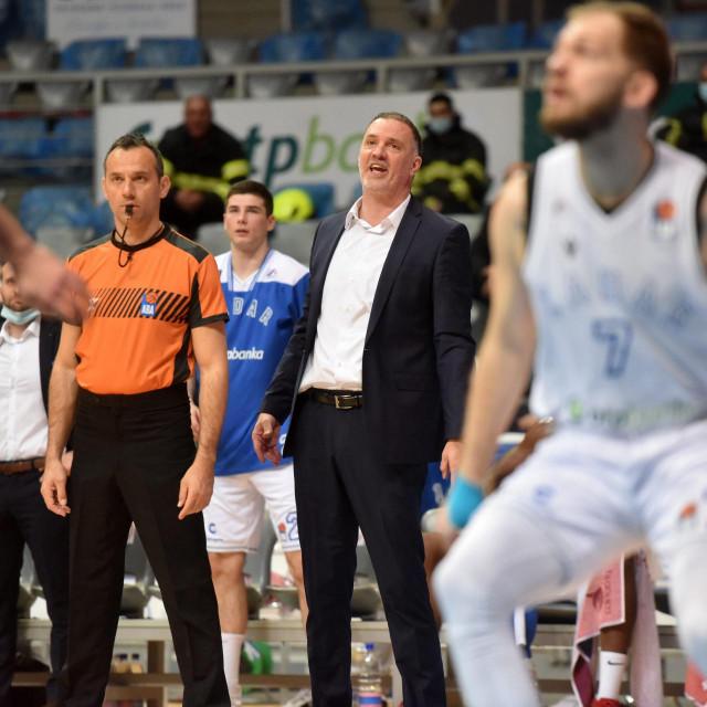 Trener Zadra Veljko Mršić<br />