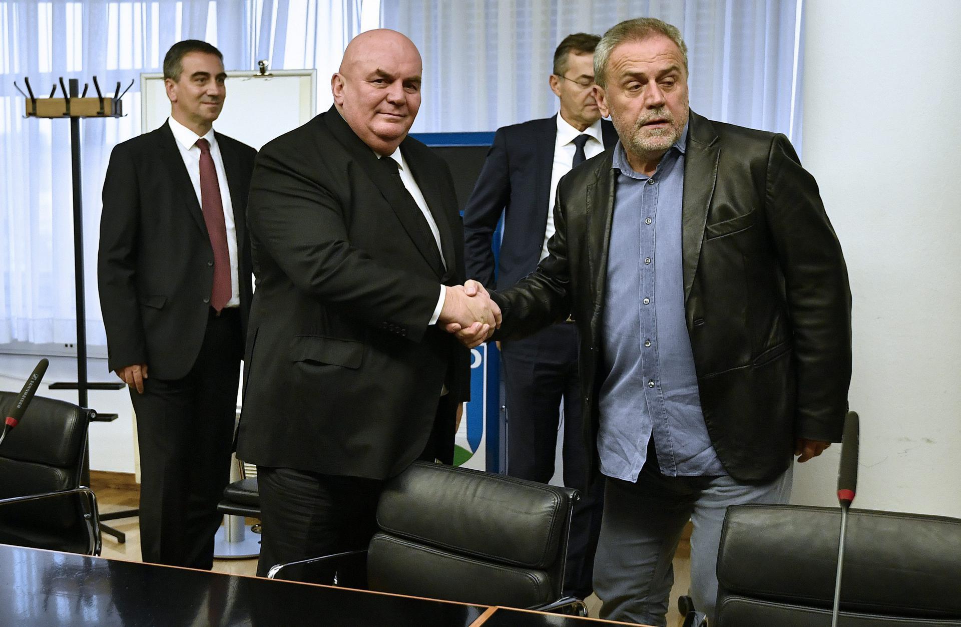 Srpski političar Palma poslao 'posthumno pismo' Bandiću: Danas sam čuo tužnu vijest da si preminuo, Ti i ja smo se sreli u Zagrebu...