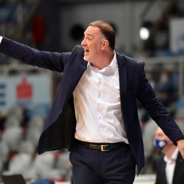 Trener Zadra Veljko Mršić