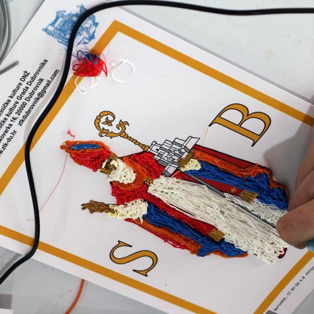 Održane radionice crtanja 3D olovkama u Centru za mlade Dubovnik