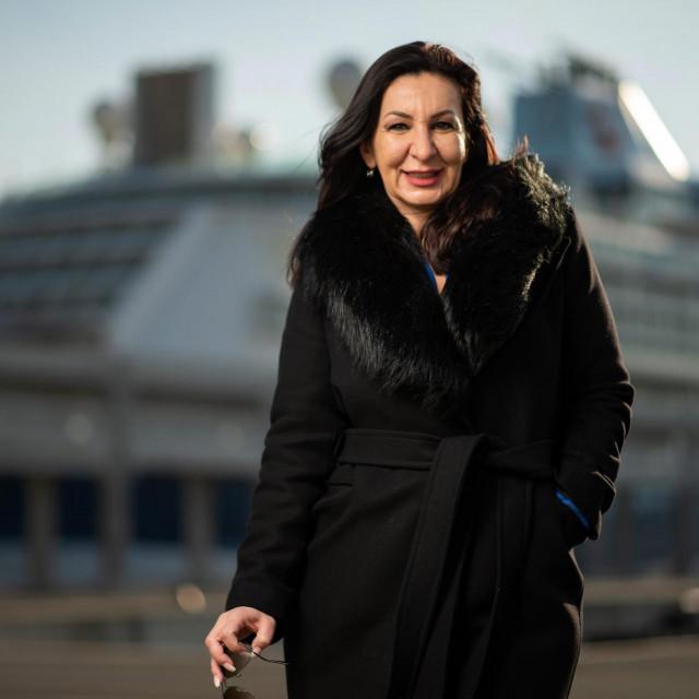 Rebeka V. Pevec je generalna menadžerica tvrtke ZIPO, koncesionara međunarodne putničke luke i terminala u Gaženici