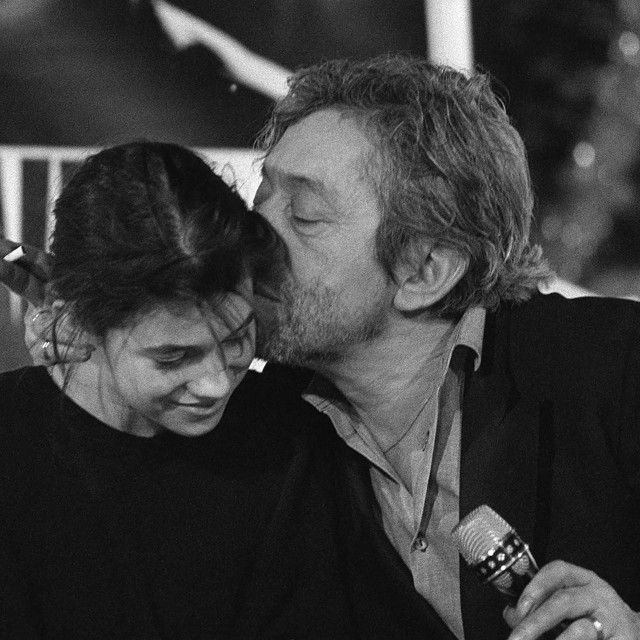 Serge Gainsbourg i njegova kći Charlotte
