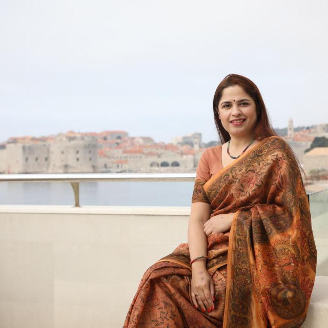 Lakshmi Srivastava, supruga indijskog veleposlanika u Hrvatskoj