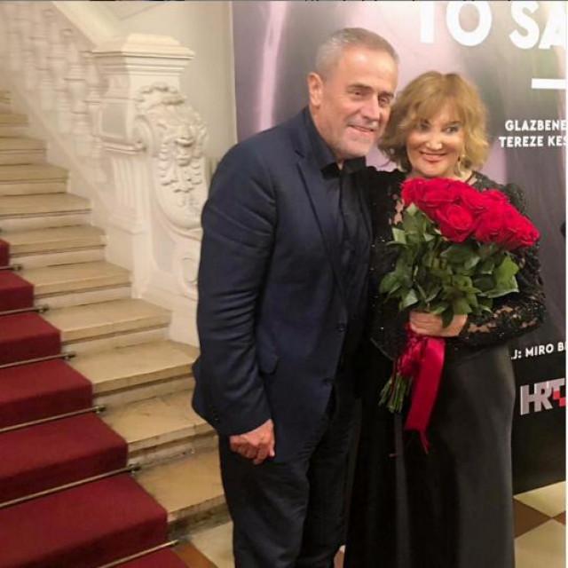 Milan Bandić i Tereza Kesovija