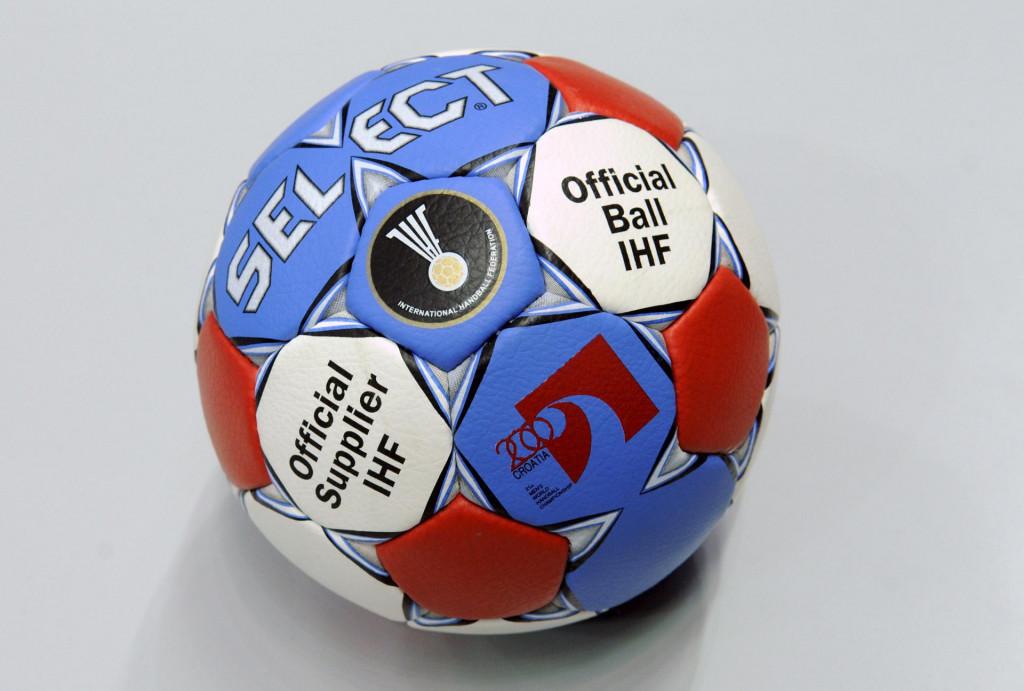 Službena lopta Svjetskog prvenstva rukometaša foto: Joško Ponoš/CROPIX