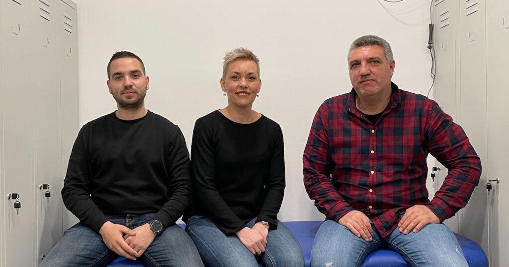 Liječnički tim: Elvis Klarica, Tihana Buterin i Hari Perinić