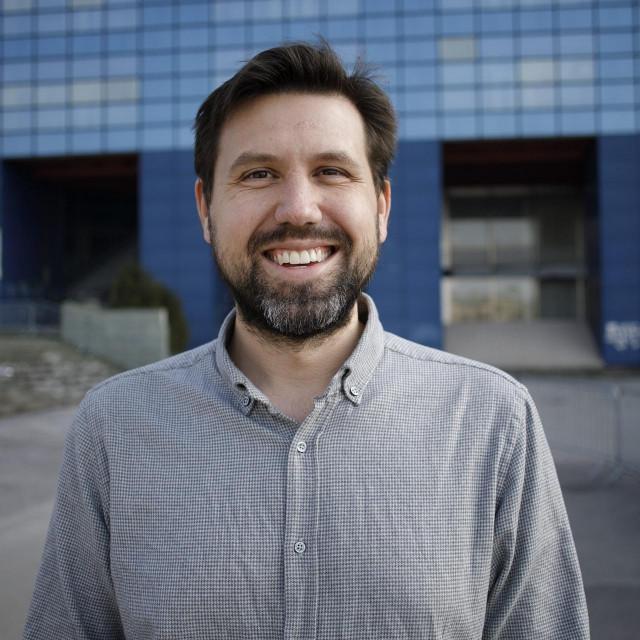 dr. John Rogošić osnivac nove splitske škole Split International School, snimljen u Maksimiru