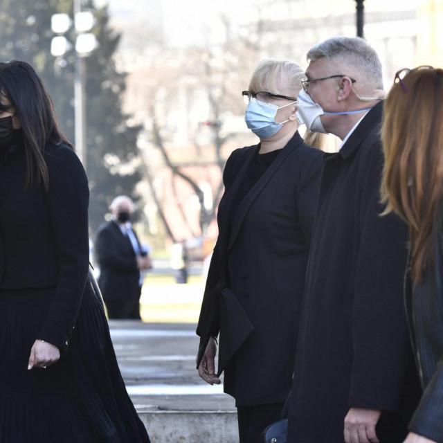 Vesna Bandić, supruga pokojnog Milana Bandića