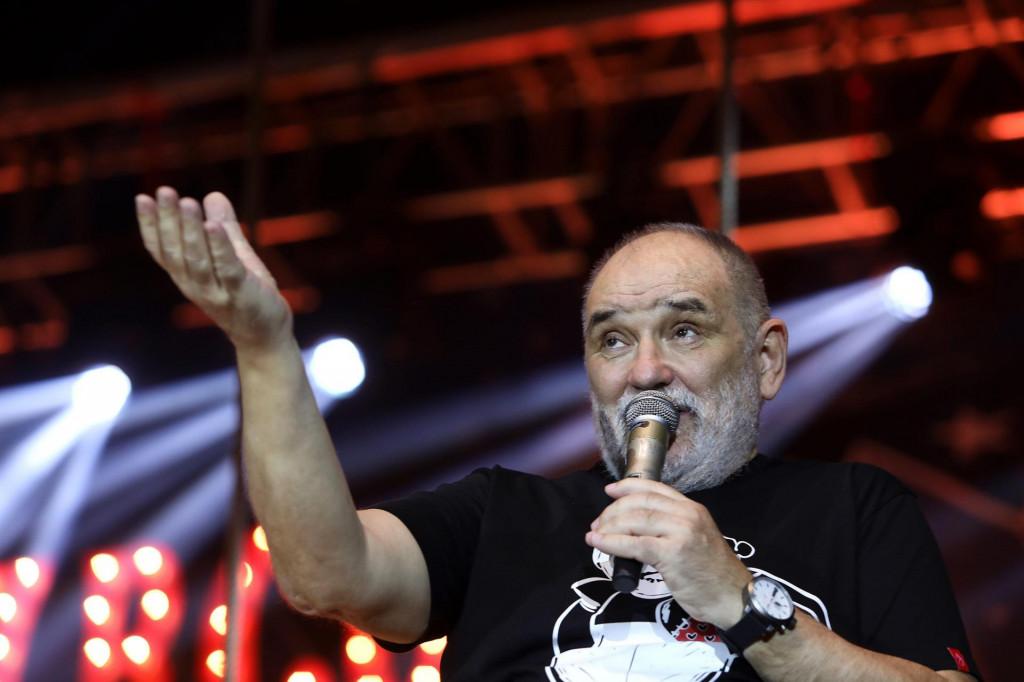 Đorđe Balašević na osječkom koncertu 2019. godine